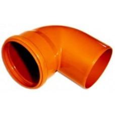 Отвод 110х90гр (для наруж канализации)