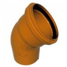 Отвод 160х45гр (для наруж канализации)
