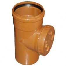 Ревизия с крышкой 110 (наруж канализация)