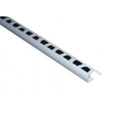 Уголок наружний для плитки, 2.5м (белая)