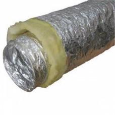 Воздуховод гибкий теплозвукоизолированный, диам.160мм (длина 10м)